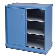 shallow cabinet with doors lista shallow depth shelf cabinet with sliding doors ebay 26014
