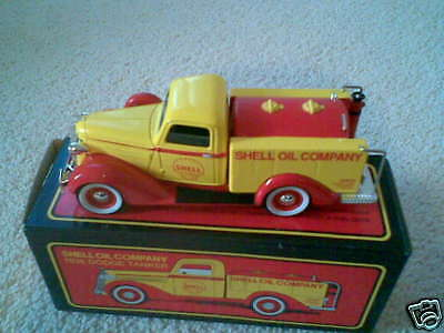 1936 SHELL OIL DODGE TANKER TOY TRUCK DIECAST COLLECTIBLE LIMITED EDITION - NEW!