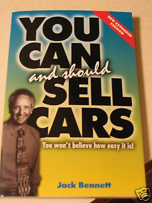 You Can And Should Sell Cars