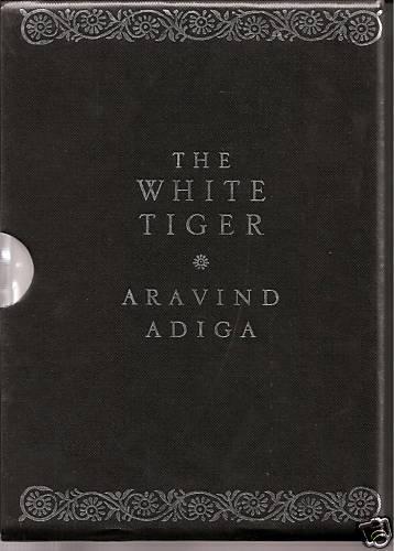 THE WHITE TIGER ltd Ed 1st edition SIGNED ARAVIND ADIGA