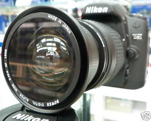 Wide-Angle Macro Fisheye lens for NIKON d5300 d5000 d3300 d3200 as 50/35mm nib