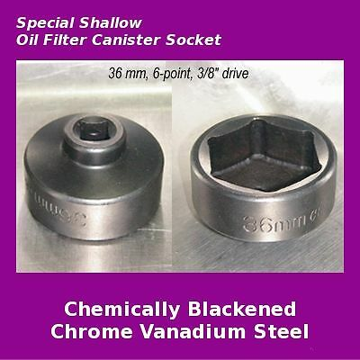 Volvo S40 V50 C30 C70 S60 36mm Oil Filter Cap Socket Wrench 2.4 2.5 T5 T6 Tool - New for sale in ...