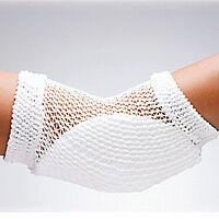 FLA Orthopedics Heel and Elbow Protector Open Mesh, Universal, white
