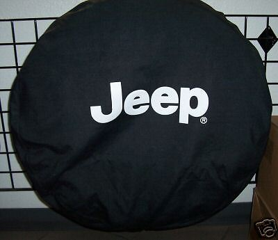 Jeep Wrangler JK black spare tire COVER  oem 82209952AB mopar Jeep accessory