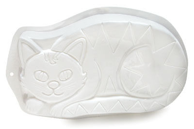 Pantastic Cat Cake Pan Jello Mold Oven/Microwave 9 x 15